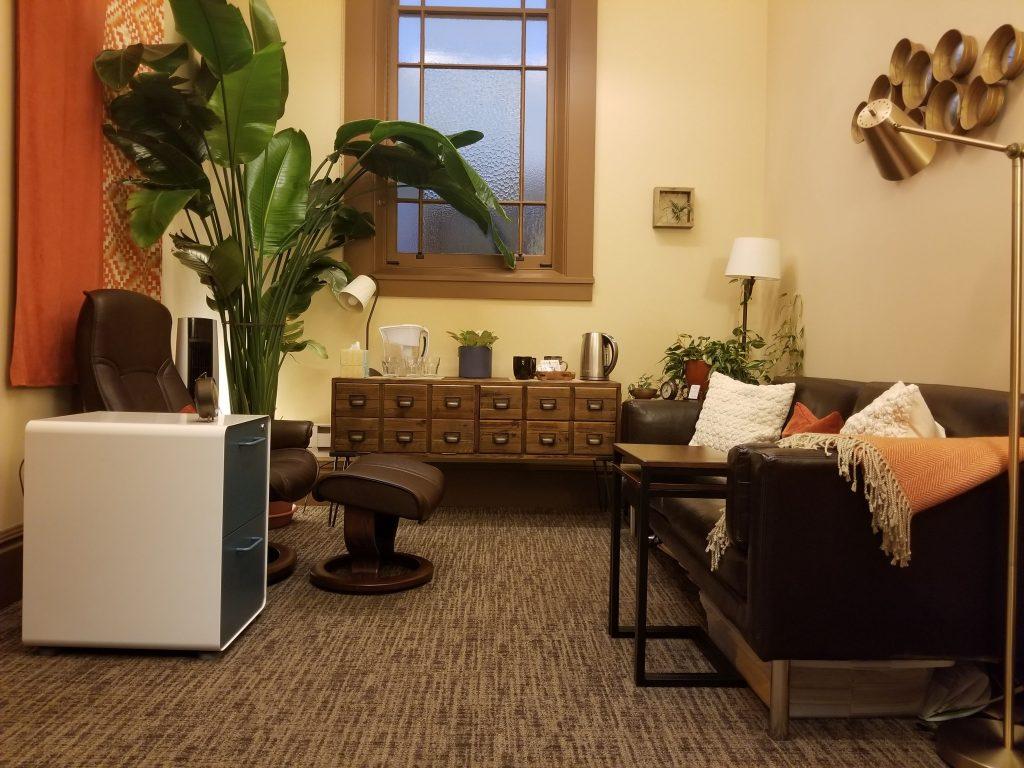 Inside Ann Marie Dobosz's office